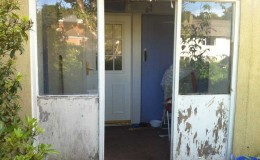 Renovate an old tired entrance door