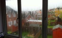 Failed misted uPVC window glass units