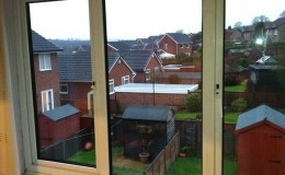 Replaced misted uPVC sealed glass units