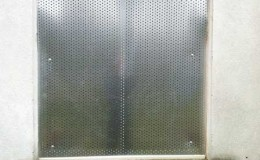 Window security grills for insurance